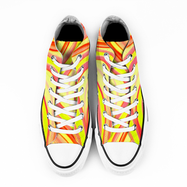 Vintage hippy boho, fashion style sneakers from eldragonfly