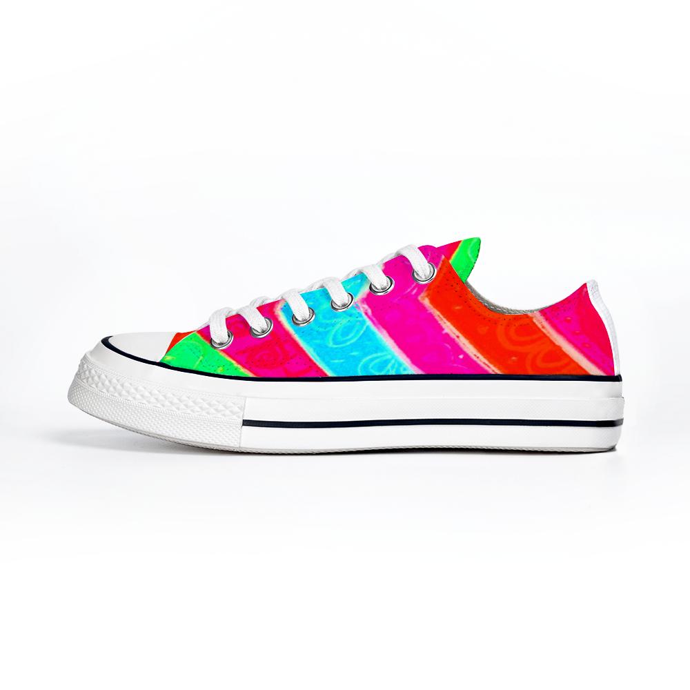 Barceloneta Collection: Unisex beachfashion style canvas shoes – numero tres , designed by eldragonfly Barcelona