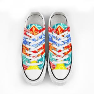 Barceloneta Collection: Unisex beachfashion style canvas shoes - design numero uno