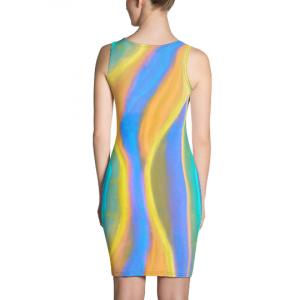Santa Carla beach fashion dress designed by eldragonfly Barcelona