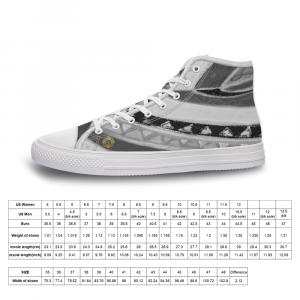 San Vic Collection Unisex Canvas shoes with a Mediteranean tribal grey print from Eldragonfly Barcelona
