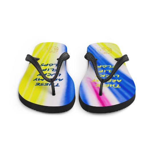 San Alfonso collection: my lucky flip flops designed by eldragonfly barcelona