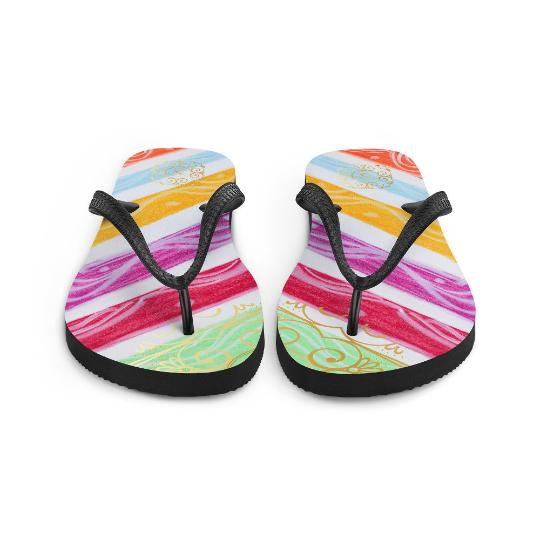 Barceloneta flip flops (estilo de playa tres) designed by eldragonfly Barcelona