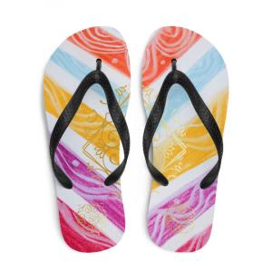 Barceloneta flip flops (estilo de playa quatro)designed by eldragonfly Barcelona