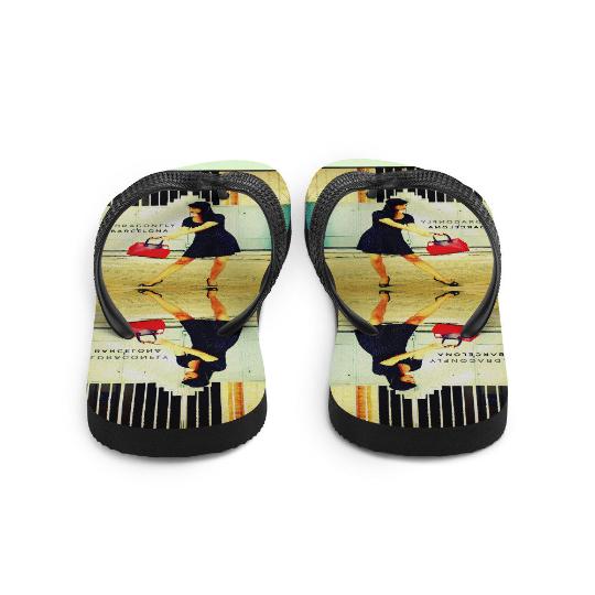 Bailando de pinup Flip-Flops designed by Eldragonfly Barcelona