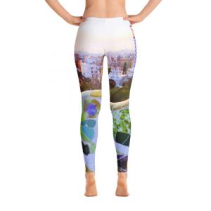 Parc Güell collection: Street fashion low waist leggings, designed by eldragonfly Barcelona