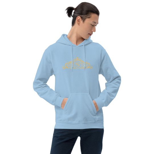 San Carlos collection: Barcelona beachstyle hoody ( mixed coloures) by Eldragonfly Barcelona