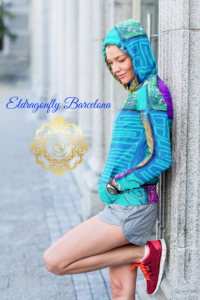 Selva de Mar Collection: Unisex beach fashion style hoody (XS-3XL) designed by Eldragonfly barcelona