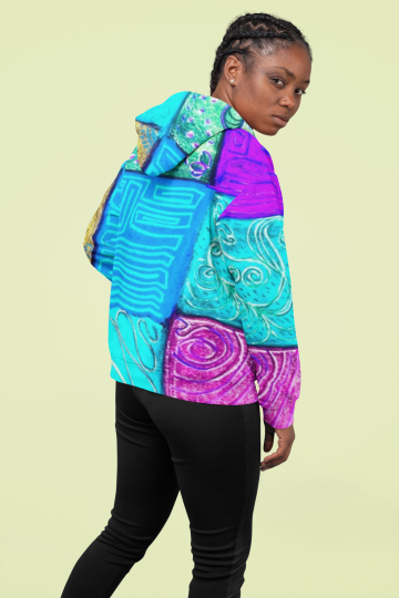 Selva de Mar Collection: Unisex beach fashion style hoody (XS-3XL)