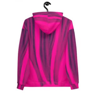 Gervasi Collection: Barcelona Unisex beach pink Hoodie eldragonfly barcelona