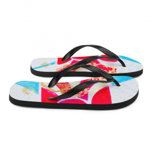 Sant Gervasi Flip-Flops (diseño 1 by eldragonfly barcelona )