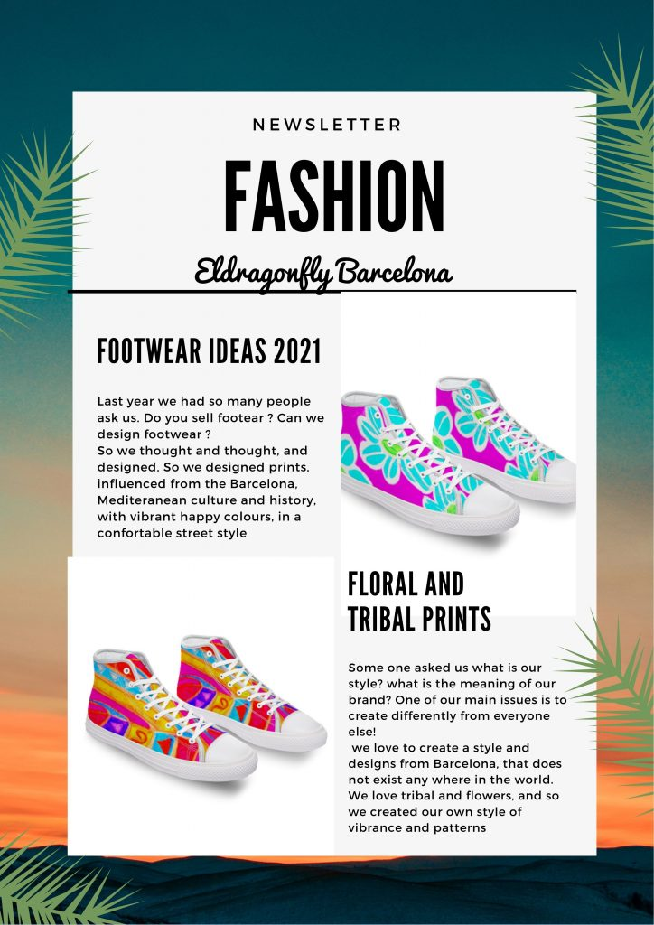 canvas shoe ideas 2021 designed by eldragonfly barcelona