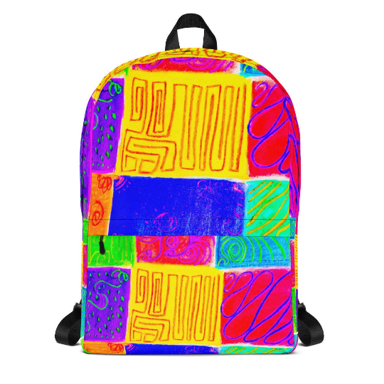 San Andrian -beach style backpack, exclusive eldragonfly Barcelona design