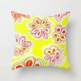 mediteranean-street-art-flowers-pillows designed by eldragonfly barcelona