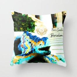Parc Güell cushions designed by Eldragonfly Barcelona