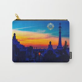 parc guell coin purse, designed by eldragonfly barcelona