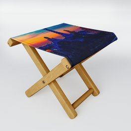 Parc Güell Folding Stool, designed by Eldragonfly Barcelona