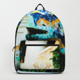 parc guell bacckpack , designed by eldragonfly barcelona