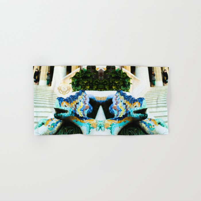 Parc guell towel designed by Eldragonfly Barcelona