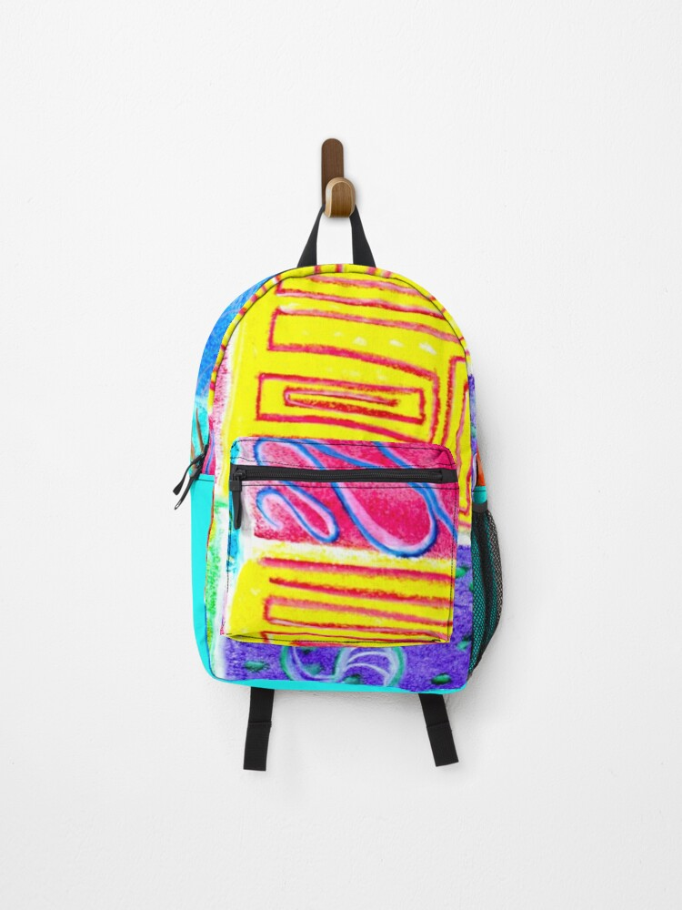 surf and beach fashion backpack from eldragonfly Barcelona