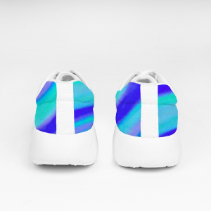 San Marti Collection: Blue beachstyle vegan sneakers, with laces designed by Eldragonfly Barcelona