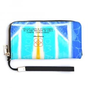 Albert Einsten quote clutch purse from Eldragonfly Barcelona