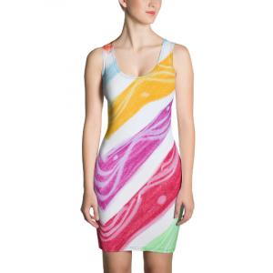 Julia Collection: Beachstyle Slim fit dress, designed by eldragonlfy Barcelona