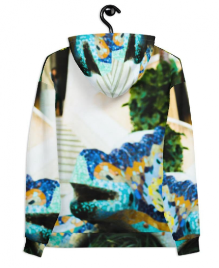 parc guell hood designed by eldragonfly Barcelona